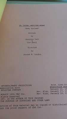 Dr. Quinn Medicine Woman Tv Series Show Script Episode  Baby Outlaws