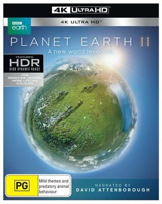 Planet Earth 2 II UHD 4K Blu-ray Region B New!