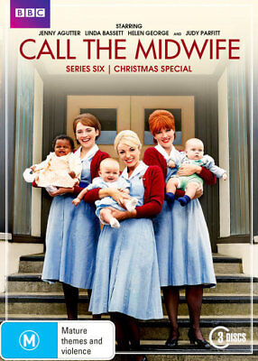 Call The Midwife - Season / Series 6 DVD R4 New!
