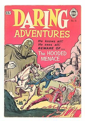 DARING ADVENTURES #15  I.W./Super 1964 - Reprints The Hooded Menace 1951 - GD+