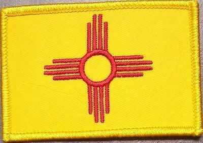 Embroidered USA State Patch New Mexico NEW flag