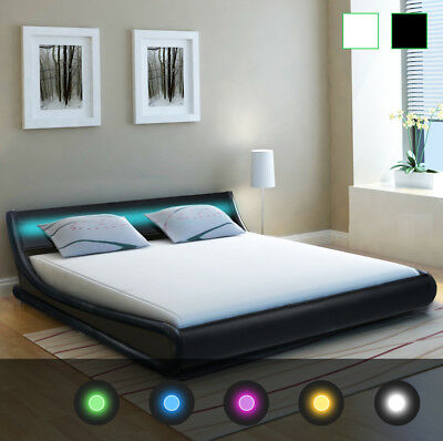 cadres de lit lits coffres lits matelas meubles maison picclick fr. Black Bedroom Furniture Sets. Home Design Ideas