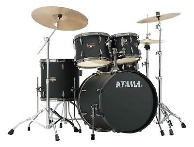 Tama IP50H6N-BBOB Imperialstar Drumkit Blacked Out Black Schlagzeug Becken Neu