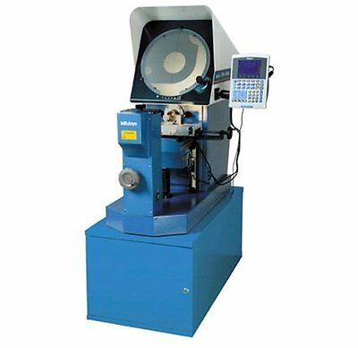 """Mitutoyo PH-A14 14"""" Optical Comparator 64PKA087 w/ QM-Data 200 and Stand"""
