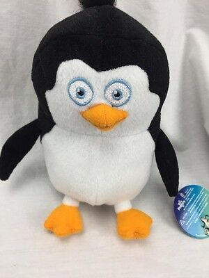 RICO Penguins Madagascar DreamWorks Plush STUFFED ANIMAL Dolls Toy 7""