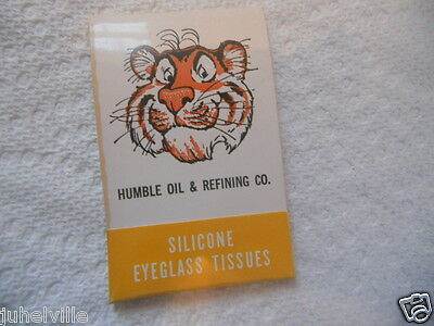 humble oil Tigers silicone eyeglass tissues NOS