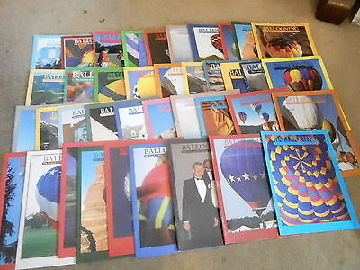 FRB-#382 LOT OF 39  BALLOONING magazines 1990s
