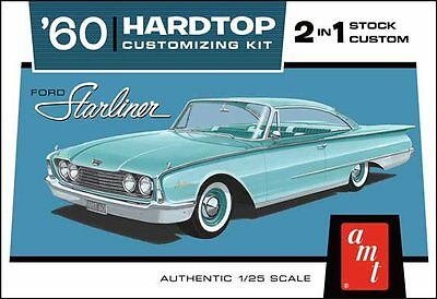 1960 Ford Starliner 1/25 scale skill 2 AMT plastic model kit#1055