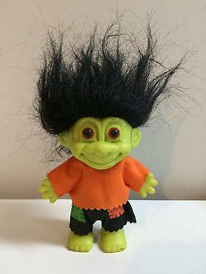 "Russ Authentic 5"" Frankenstein Monster Vintage Halloween Troll Doll"