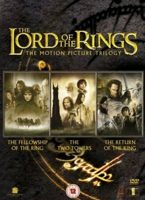 The Lord of the Rings Trilogy Fellowship Two Towers Return of King Region 2 DVD