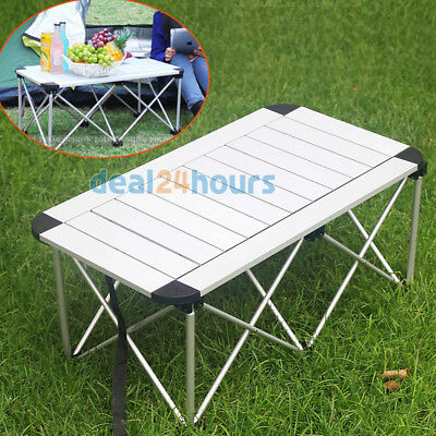 Travelling Camping Picnic Backpacker Desk Folding Table Outdoor Aluminium Alloy