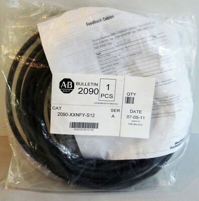 Allen Bradley Feedback Cable 2090-XXNFY-S12 Serie A -unused-