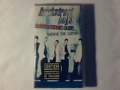 BACKSTREET BOYS Backstreet's back... behind the scenes vhs ITALY NUOVA UNPLAYED!