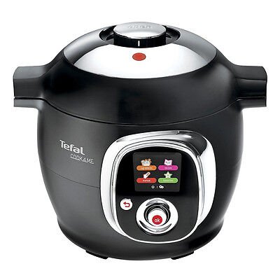Tefal CY701840 Cook4me Multi Cooker with 6L Capacity 1300w Power in Black