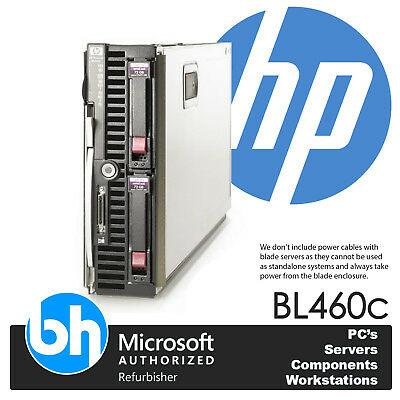HP Proliant BL460c Up To 2 x Xeon Quad Core/32GB RAM Custom Configuration E200i