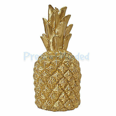 Talking Tables Modern Metallic Gold Pineapple Candle Table Centrepiece