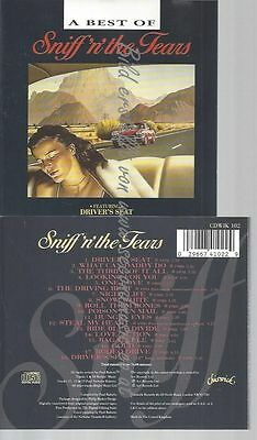 Cd--Sniff 'n' The Tears--A Best Of