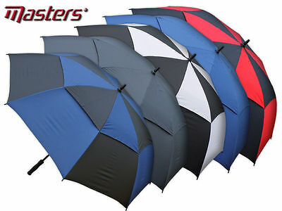 *brand New* Masters - Tour Dri Gust Resistant Umbrella - Various Colours
