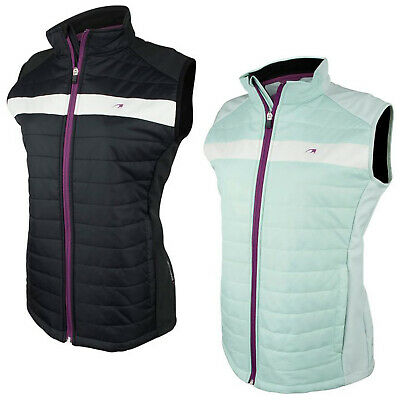 2017 Benross Golf Womens Pearl Pro Shell Gilet New Bodywarmer Padded Top Vest