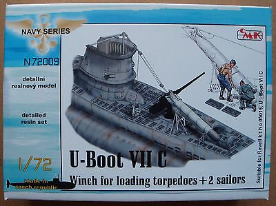 "CMK N72009 Detail Set ""Winch for Loading"" für U-Boot VIIC Revell® in 1:72"
