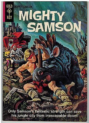 Mighty Samson #3 1965 Gold Key Silver Age!
