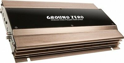 Ground Zero Mono 1 Channel Class AB Sub Subwoofer Amp Amplifier 600W RMS