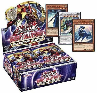 Box 8 buste Segreti dell'Eternità/ETERNITA' Edizione Super - ITA - YUGIOH new