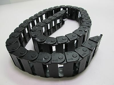 "Igus 208.30.036 1.5"" x .750"" Energy Chain Section 35"" Overall Length W/Mounting"