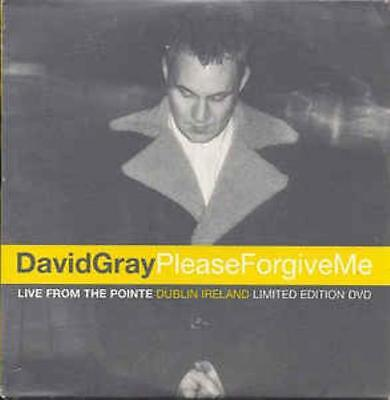 David Gray: Please Forgive Me: Live Pointe Dublin Ireland Limited w/ Artwork DVD
