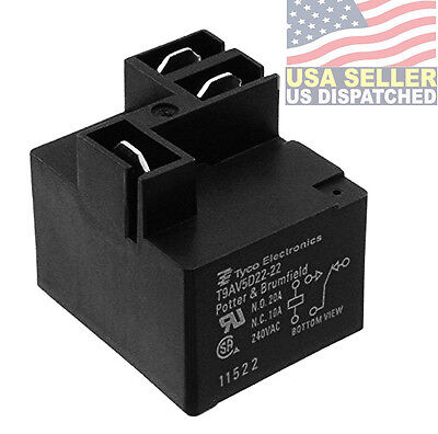 TE CONNECTIVITY POTTER BRUMFIELD T9AV5D22 22 RELAY universal waterproof relay fuse distribution box cooper bussmann w waterproof relay fuse box at gsmportal.co