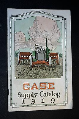 Scarce CASE Supply Catalog 1919,  Very Good Condition