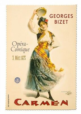 Opera Carmen - Glasses Cleaning Cloth Microfibre