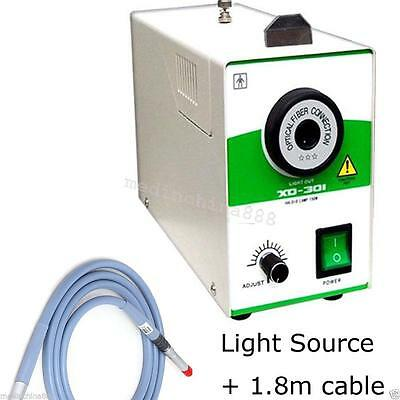 CE Proved 150W Single Halogen Cold Light Source + Fiber Cable ø4mmX1800mm