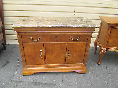 57408 THOMASVILLE Marble top Server Cabinet Chest