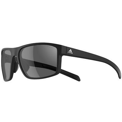 Adidas 2016 Whipstart Sunglasses - Black Matt/Grey - polarized grey lenses