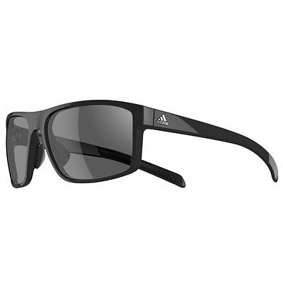 Adidas 2016 Whipstart Sunglasses - Black Shiny - Grey Lenses