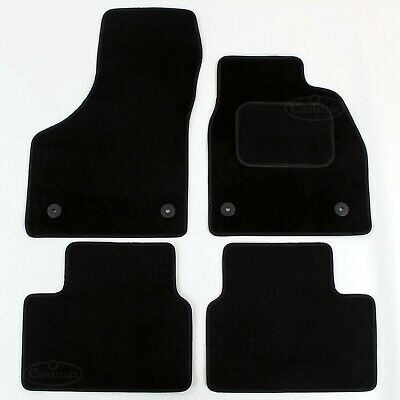 Vauxhall Meriva B Mk2 2010 onwards Tailored Carpet Car Mats Black 4pc Floor set