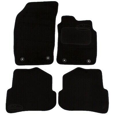 Audi A1 2010 onwards Tailored Carpet Car Mats Black 4pc Floor set