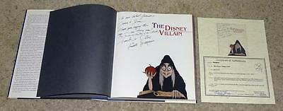 """Mnt""""1-Of-A-Kind""""author Autographed""""edition""""the Disney Villain""""+Author Inscribed!"""