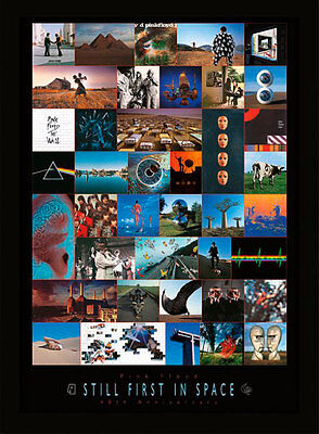 Pink Floyd 40Th Anniversary - Framed 30 x 40 Official Print