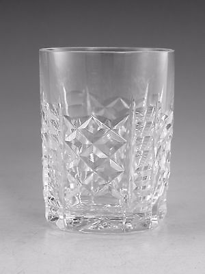WATERFORD Crystal - 454/439 Cut - 5oz Tumbler Glass / Glasses - 3 1/2""