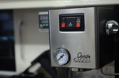 Front Panel Pressure Gauge for Gaggia Classic