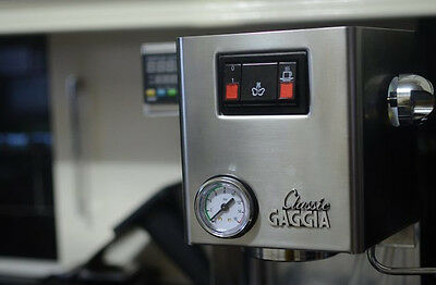Panel Mount Pressure Gauge for Gaggia Classic Coffee Machine