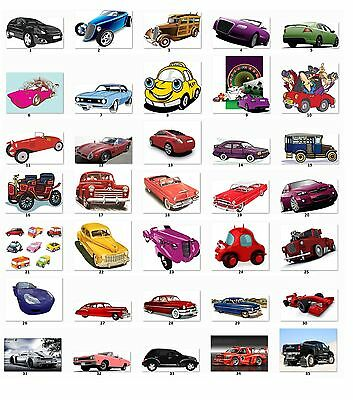 30 Personalized Cars address labels Buy 3 get 1 free {c1}