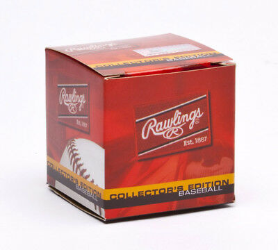 Rawlings Official Hall of Fame Game Ball ROMLBHOF
