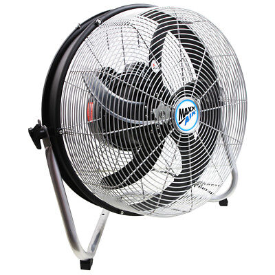 Ventamatic HVFF 18 INOSC 18-Inch 3-Speed Metal High Velocity Indoor Floor Fan