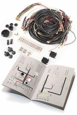 Vw Super Beetle 1971 Sedan & Convertible Complete Usa Spec Wiring Harness
