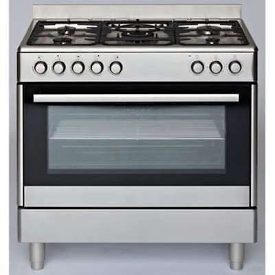Euromaid 90cm Dual Fuel Freestanding Oven/Stove GE90S
