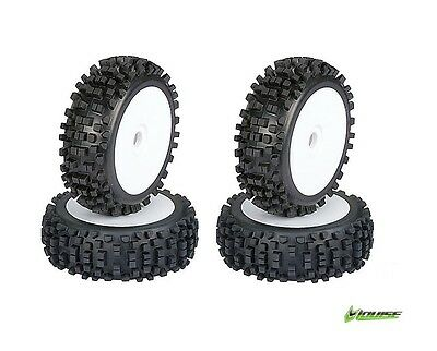 Louise Bulldoze 1/8 Off Road Chunky Buggy Wheels (Badland Style) (4) #L-T325 RC