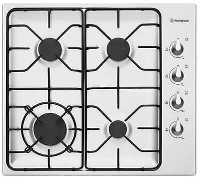Westinghouse 60cm Stainless Steel Gas Cooktop WHG640SA